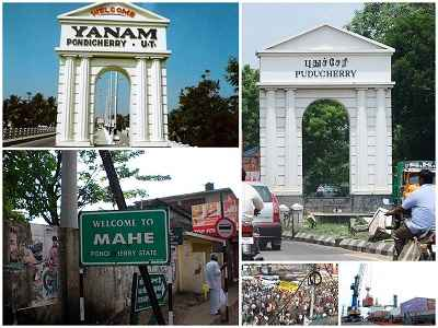 Important Areas of Puducherry