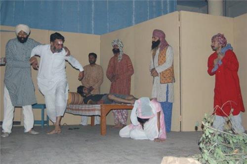 Theater Performance in Punjab