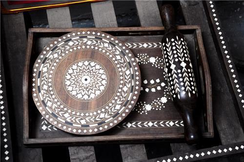Wood Work of Punjab on Display