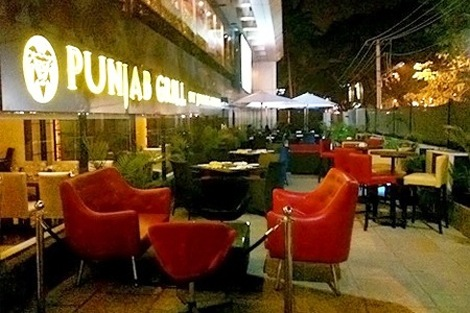 Punjab Grill Location in Chandigarh