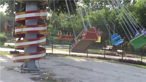 Rides and Swings at Nikku Park in Jalandhar