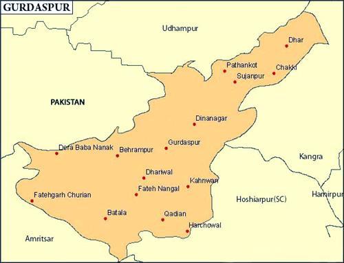 Geography of Gurdaspur