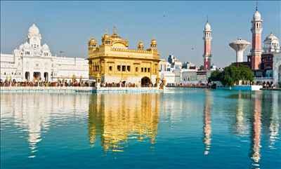 Golden Temple In Punjab