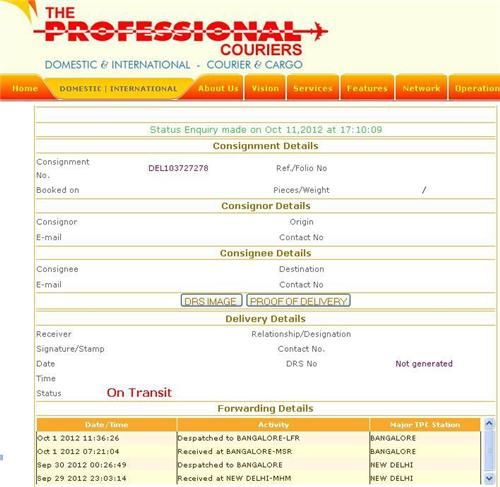 Professional Courier Pune Aundh