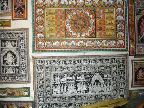The Famous Art Work of Raghurajpur