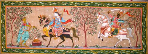 The Pata Paintings or Pattachitra of Raghurajpur