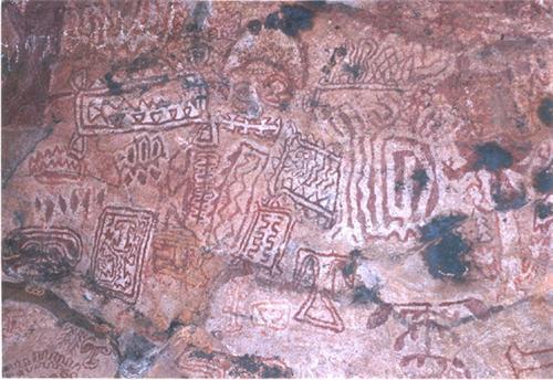 Rock Art sites in Raigarh