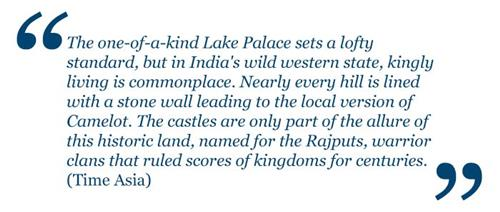 About Lake Palace