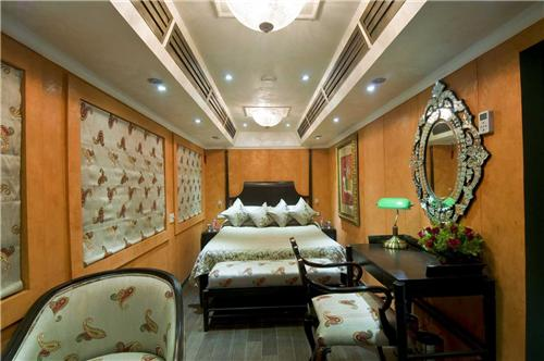 luxury trains in Rajasthan