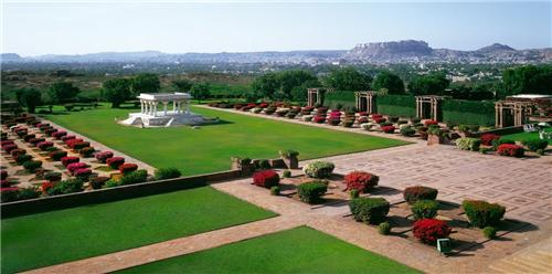 Umaid Gardens in Jodhpur