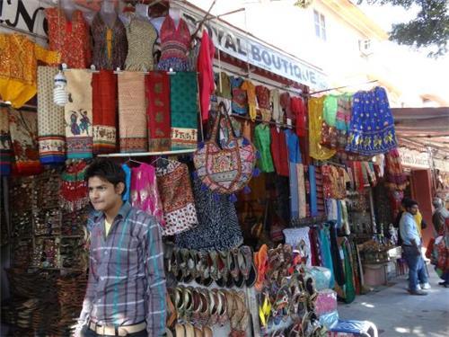 Bapu bazaar jaipur street shopping