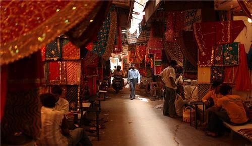 pansari bazaar jaisalmer street shopping
