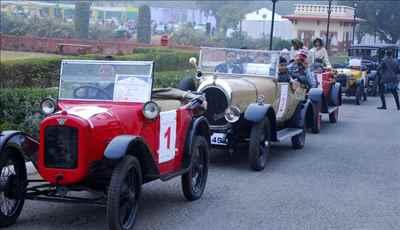 Vintage Car Shows in Rajasthan