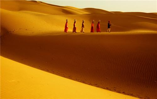 Sand Dunes of Rajasthan