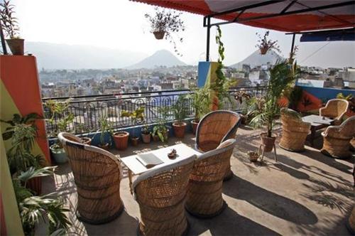 Cafes in Pushkar