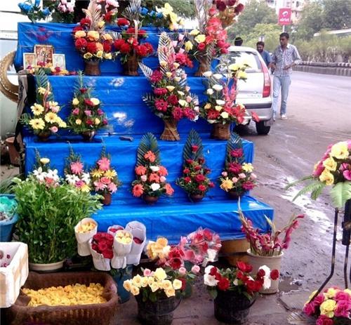 Flower Shops in Pushkar