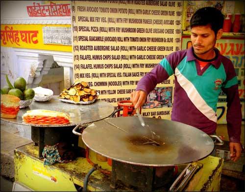Fast food restaurants in Pushkar
