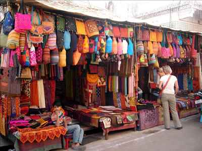 Street shopping in Rajasthan
