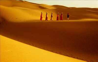 Sand Dunes of Rajasthan
