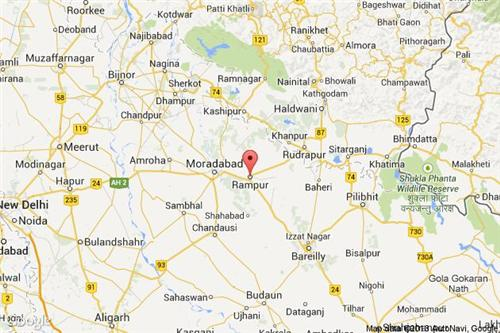 Rampur Map