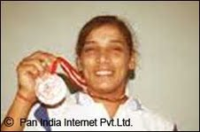 Woman Boxer from Ranchi