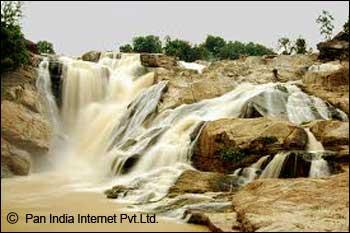 Dassam Falls in Ranchi, Jharkhand