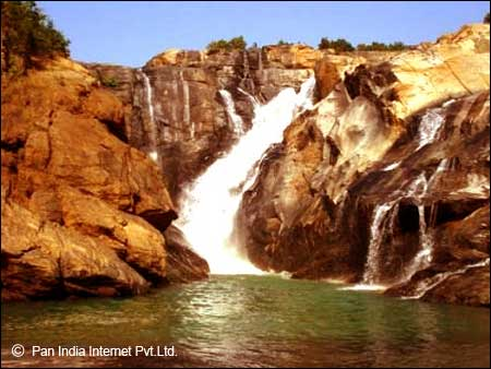 Panch Gagh Falls in Ranchi, Jharkhand