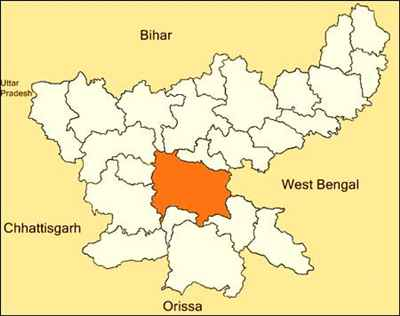 Geographical features of Ranchi