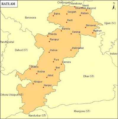 Geography of Ratlam