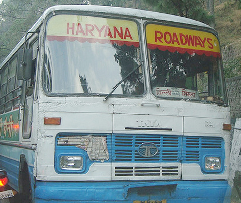Buses in Rohtak