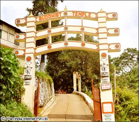 Buddhist temple shillong
