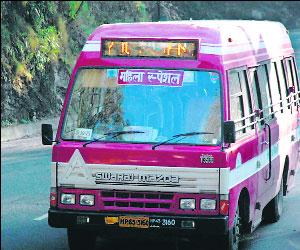 Women Buses in Shimla