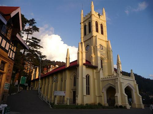 Churches in Shimla
