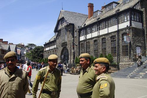 Around the Town Hall Shimla