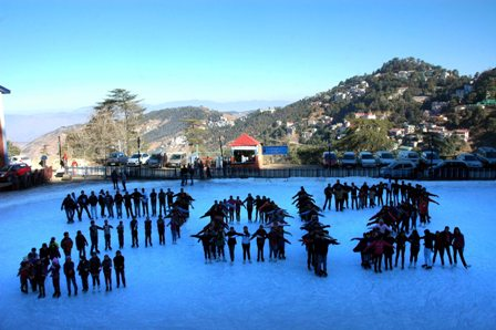 Ice Skating in Shimla