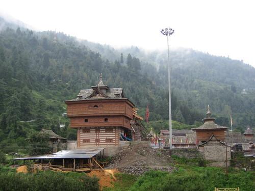 Around the Bhimkali Temple