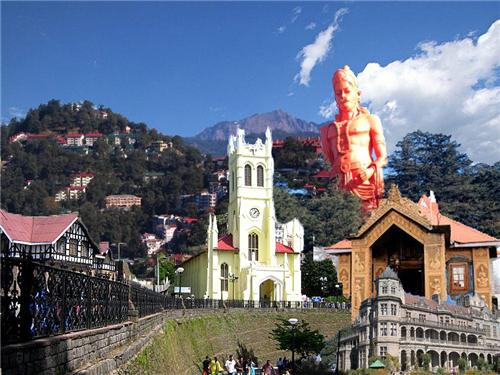Sightseeing in Shimla