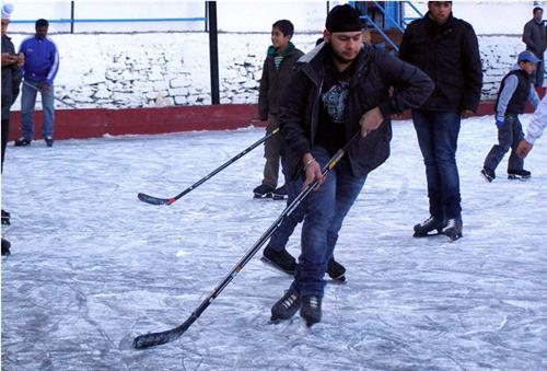 Ice Hockey in Shimla