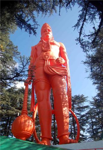 Hanuman Statue at Jakhu Hill