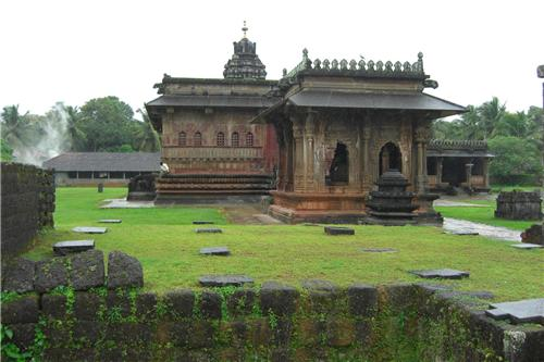 Agroheswara temple in Ikkeri, Shimoga