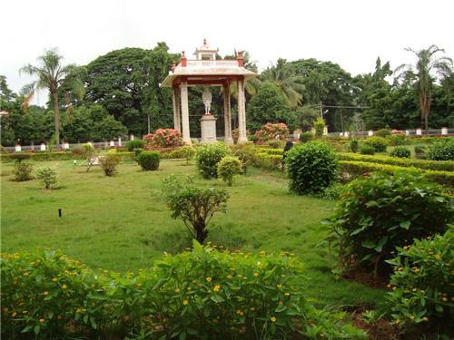 Mahatma Gandhi Park in Shimoga