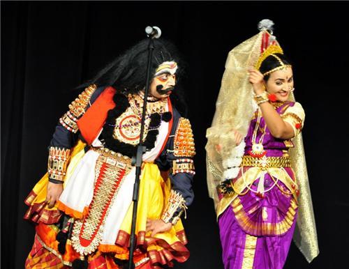 Yakshagana: Role of Bhasmasura and Mohini