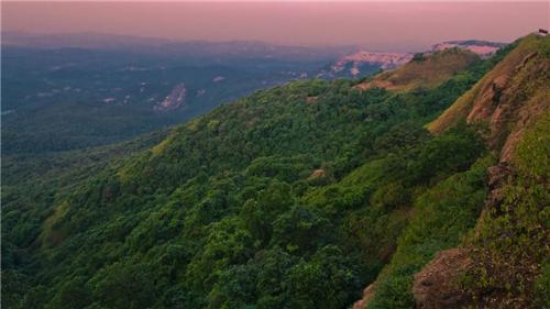 Agumbe hill station in Shimoga