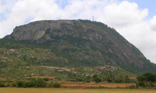 Nandi Hills in Shimoga