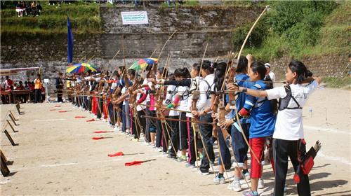 Archery in Sikkim