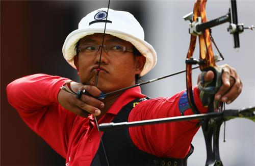 Archer from Sikkim