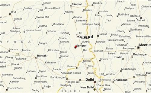 Localities of Sonipat
