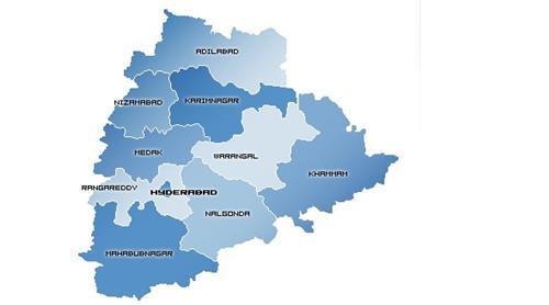 Geography of Telangana