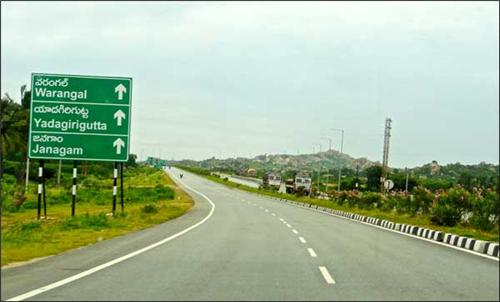 Raodways in Warangal