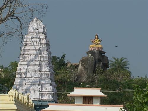 Temple near Adilabad